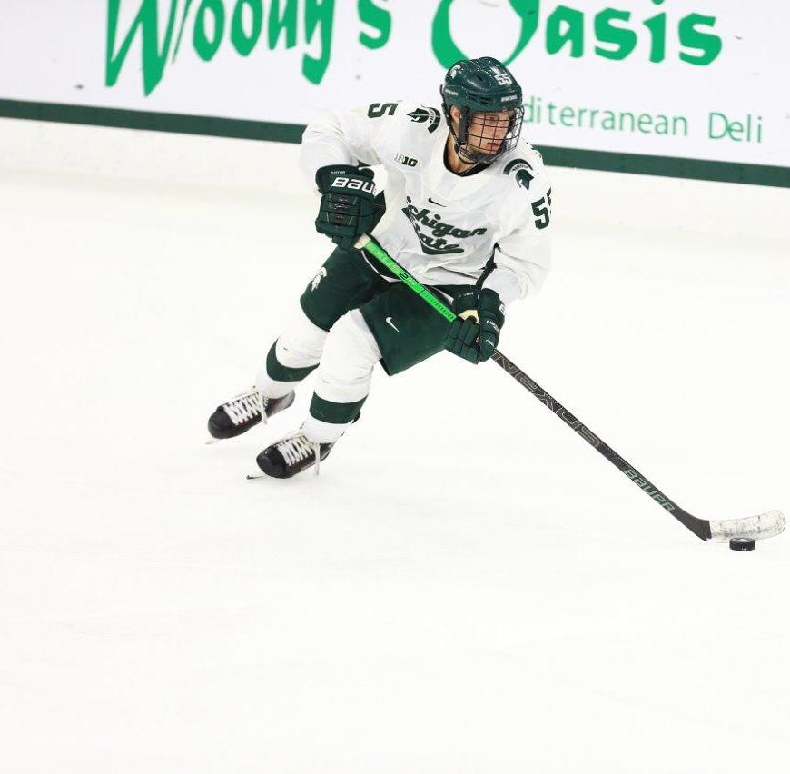 Spartans comeback falls short, drops Big Ten hockey opener to No. 8 Notre Dame