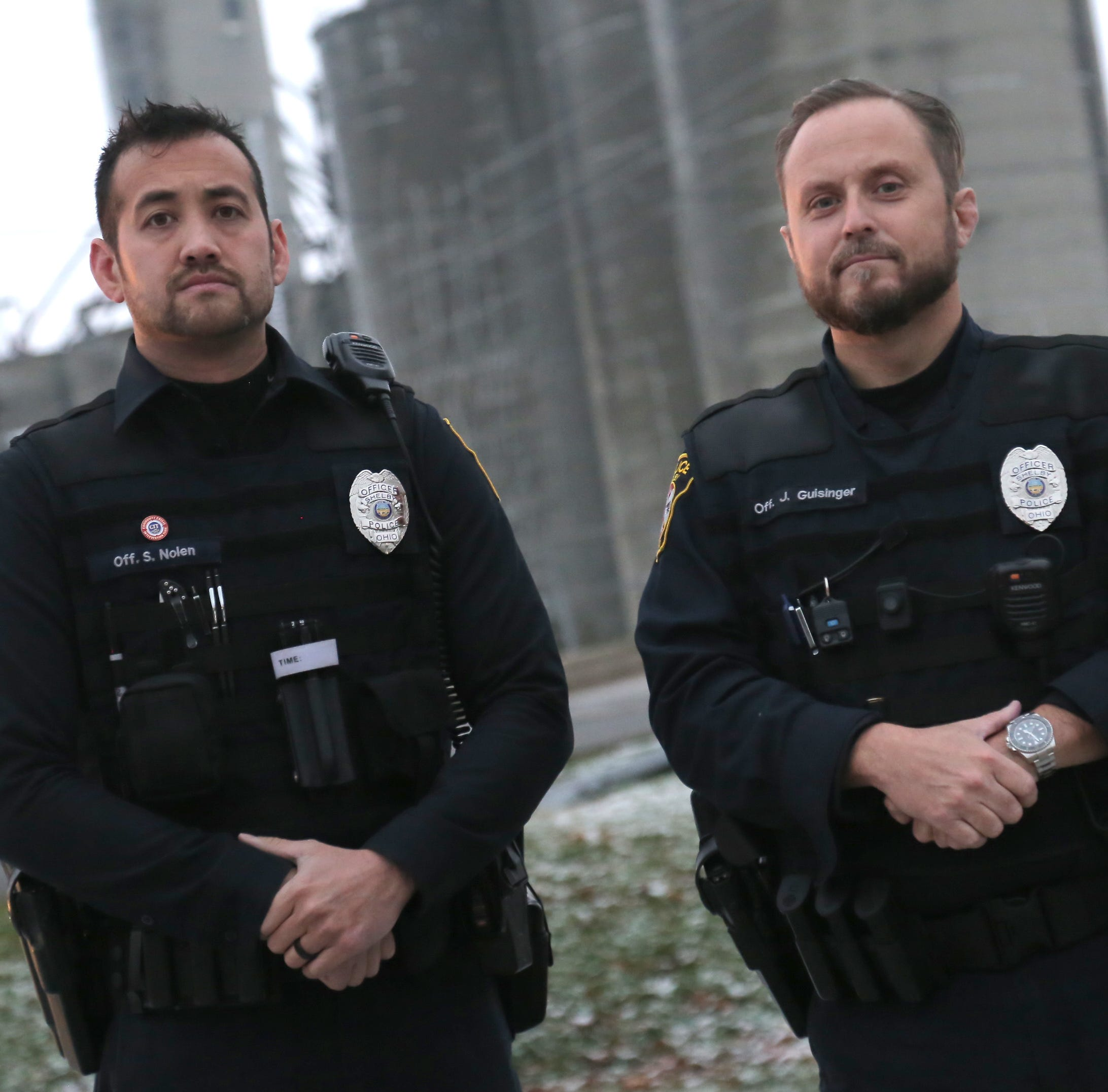 Shelby police officers credited with saving suicidal man's life