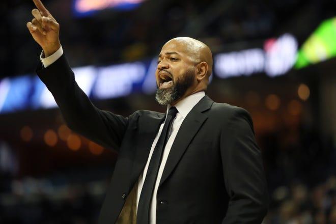 Grizzlies coach J.B. Bickerstaff