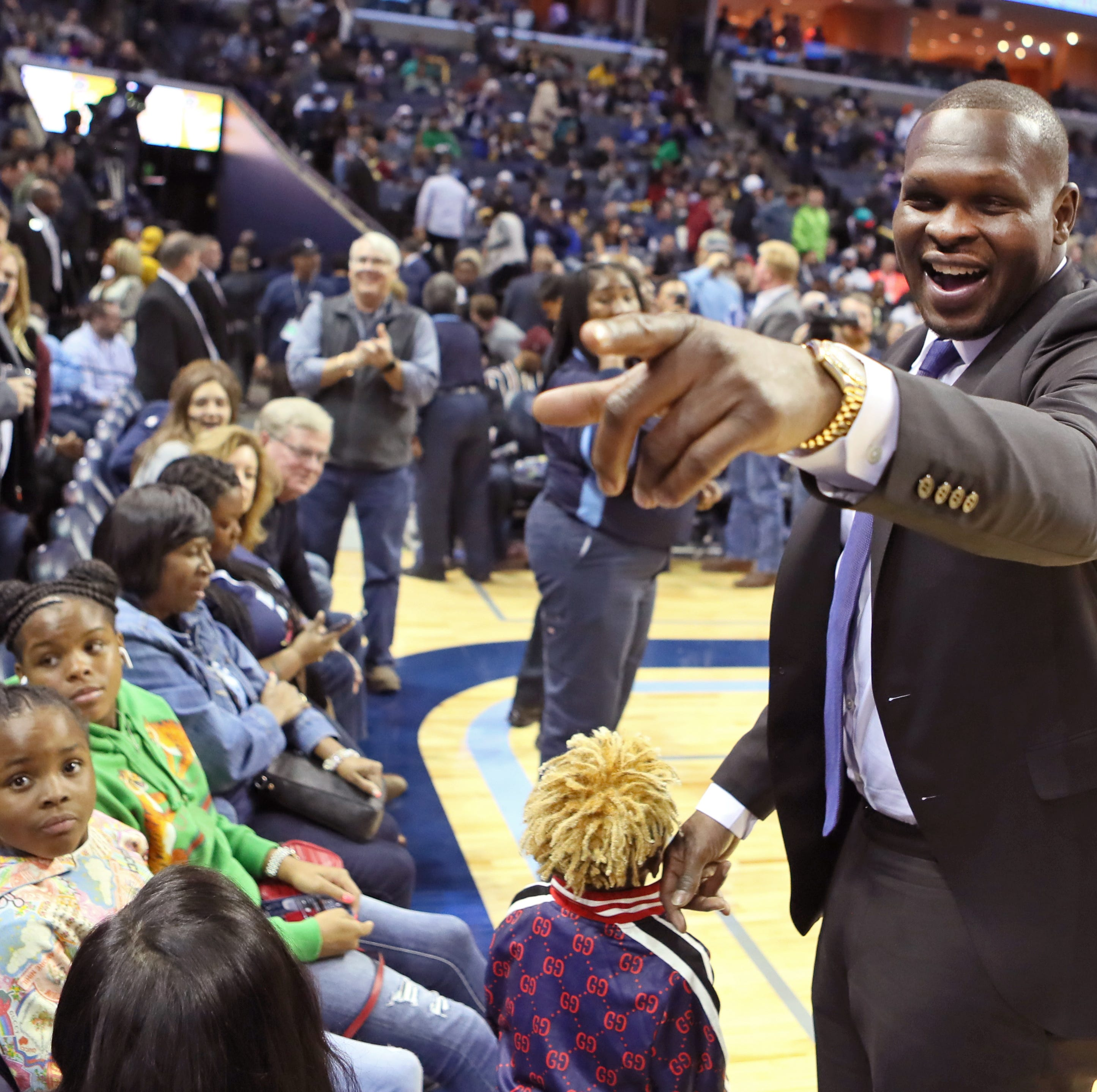 Grizzlies: Marc Gasol breaks Zach Randolph's franchise rebounding record with ZBO watching
