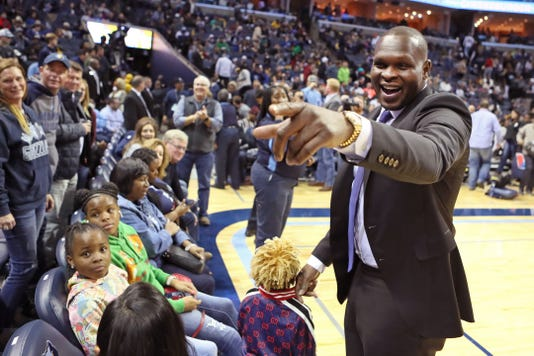 Zach Randolph on Nov. 16, 2016
