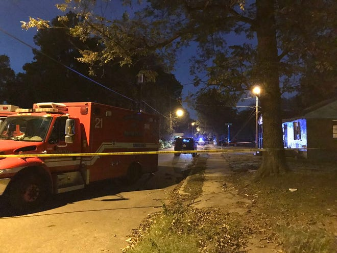 A Memphis man is barricaded inside of a home Friday night on Emmie Street near the intersection of Euclid Avenue, according to the Shelby County Sheriff''s Office.