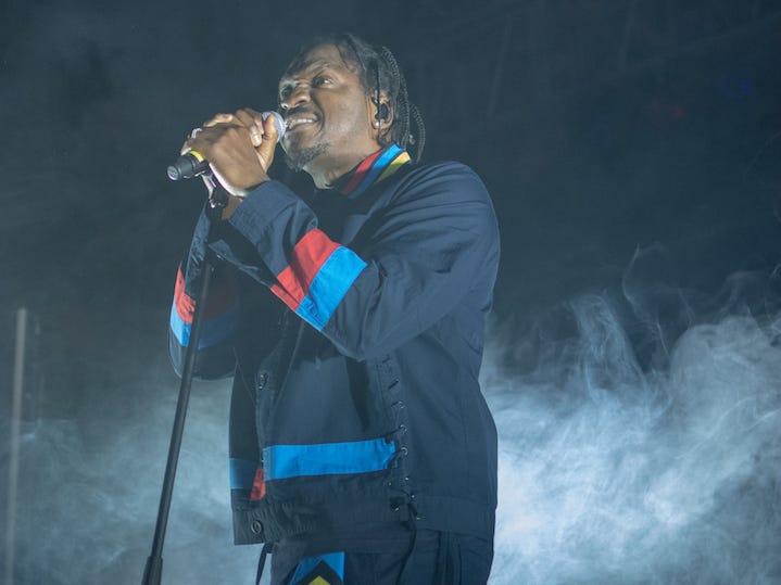 Pusha T performs at the Rave in Milwaukee on Friday, Nov. 16, 2018.