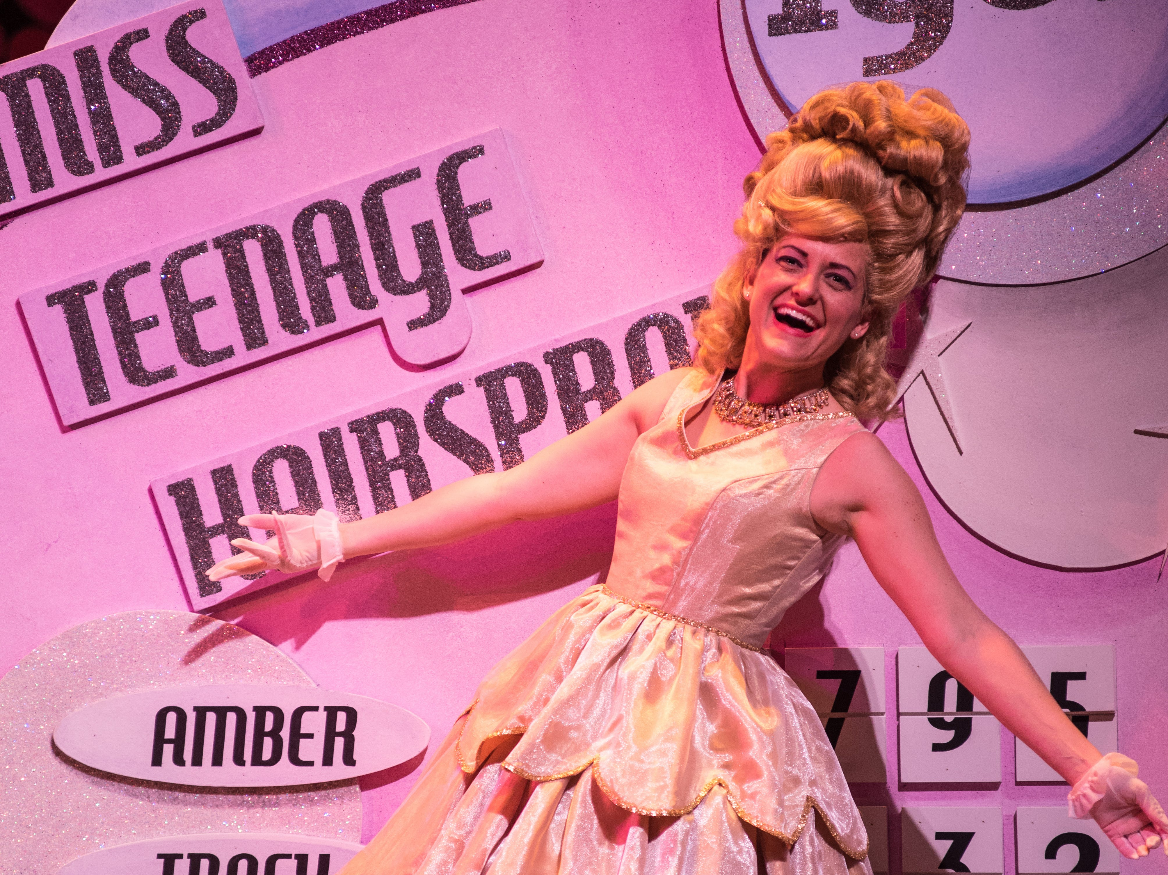 """Amber Smith makes an impression in Skylight Music Theatre's """"Hairspray."""""""
