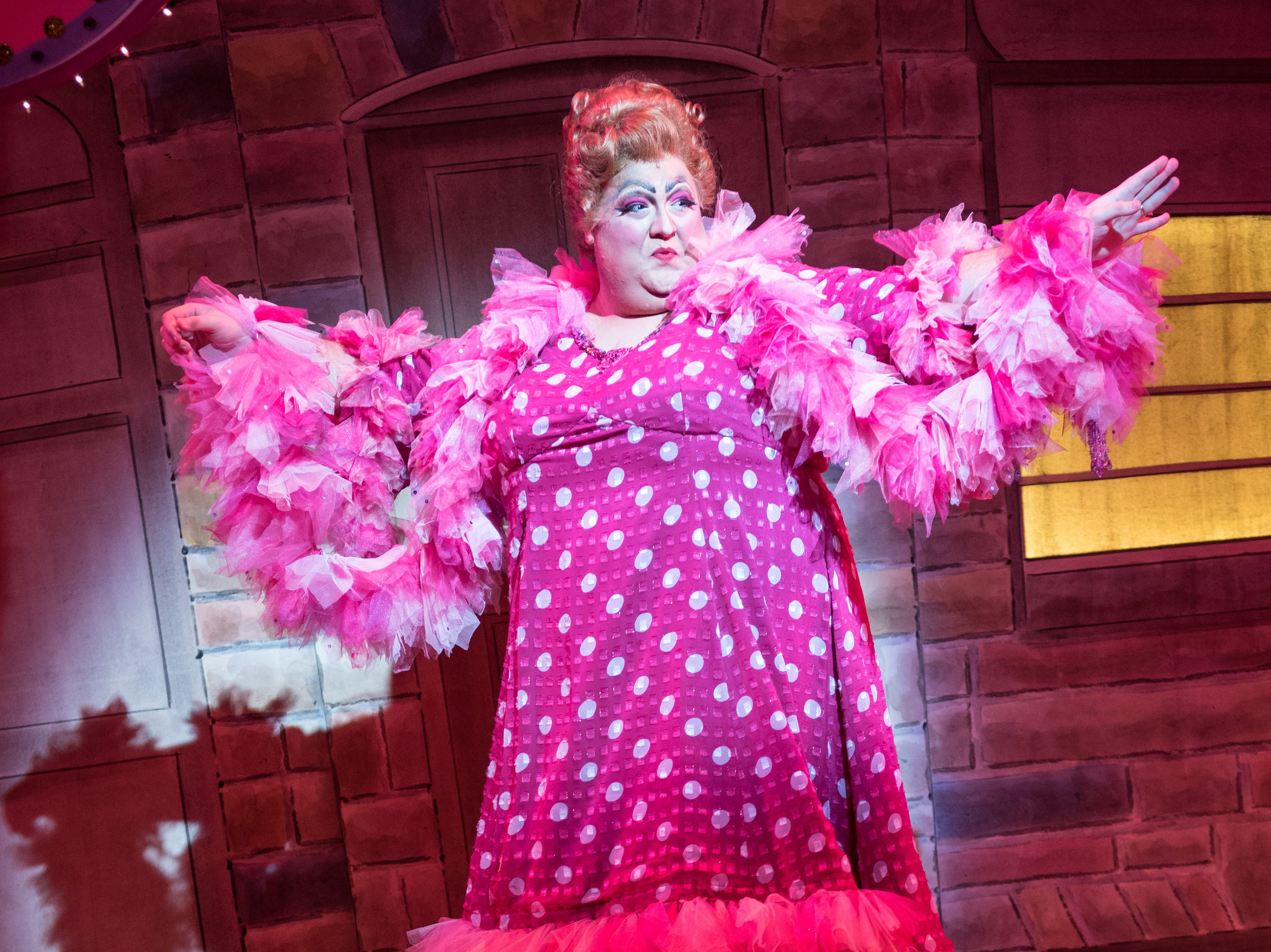 "Tommy Novak hits the floor in Skylight Music Theatre's ""Hairspray."""