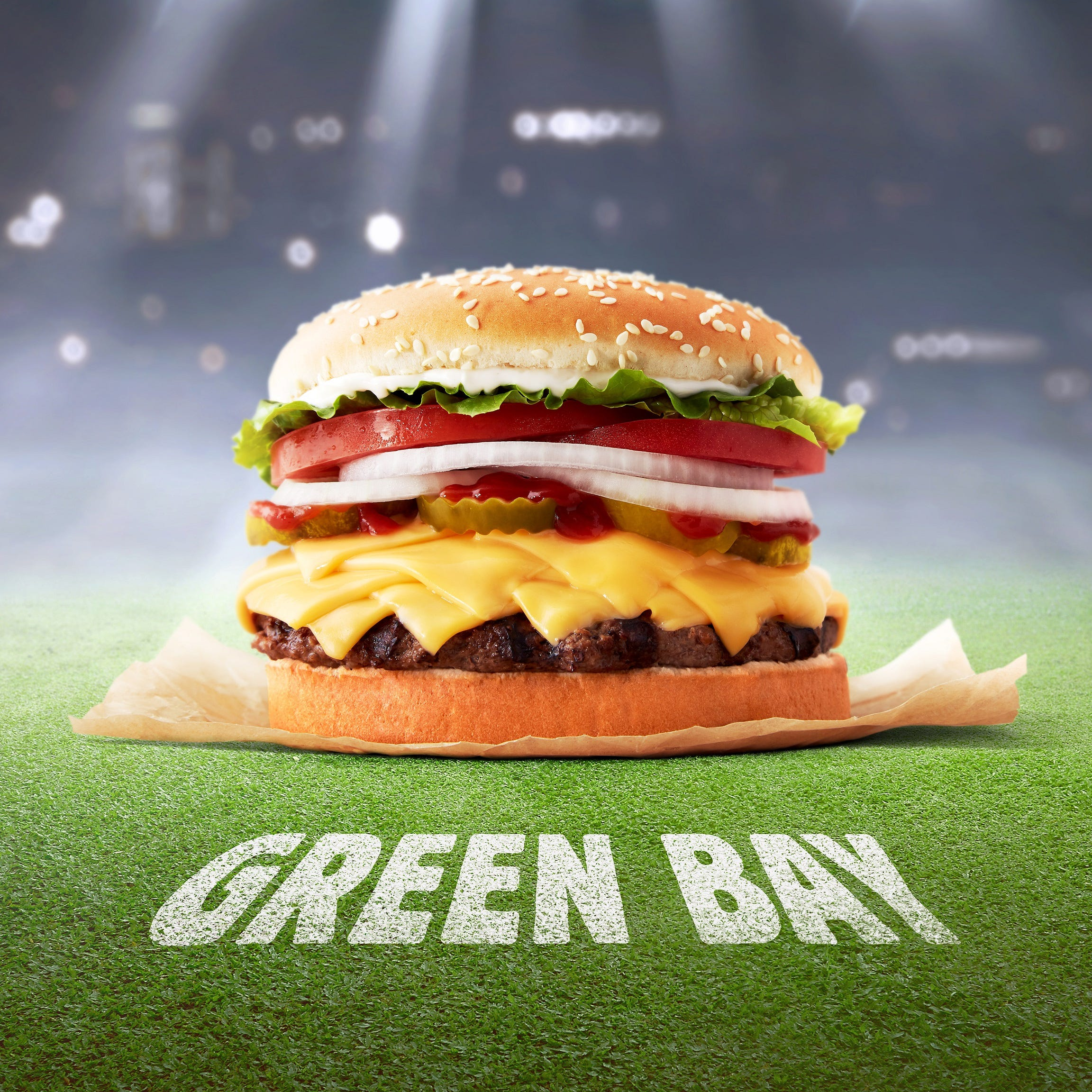 Burger King is making a Green Bay Whopper that features (you guessed it) extra cheese