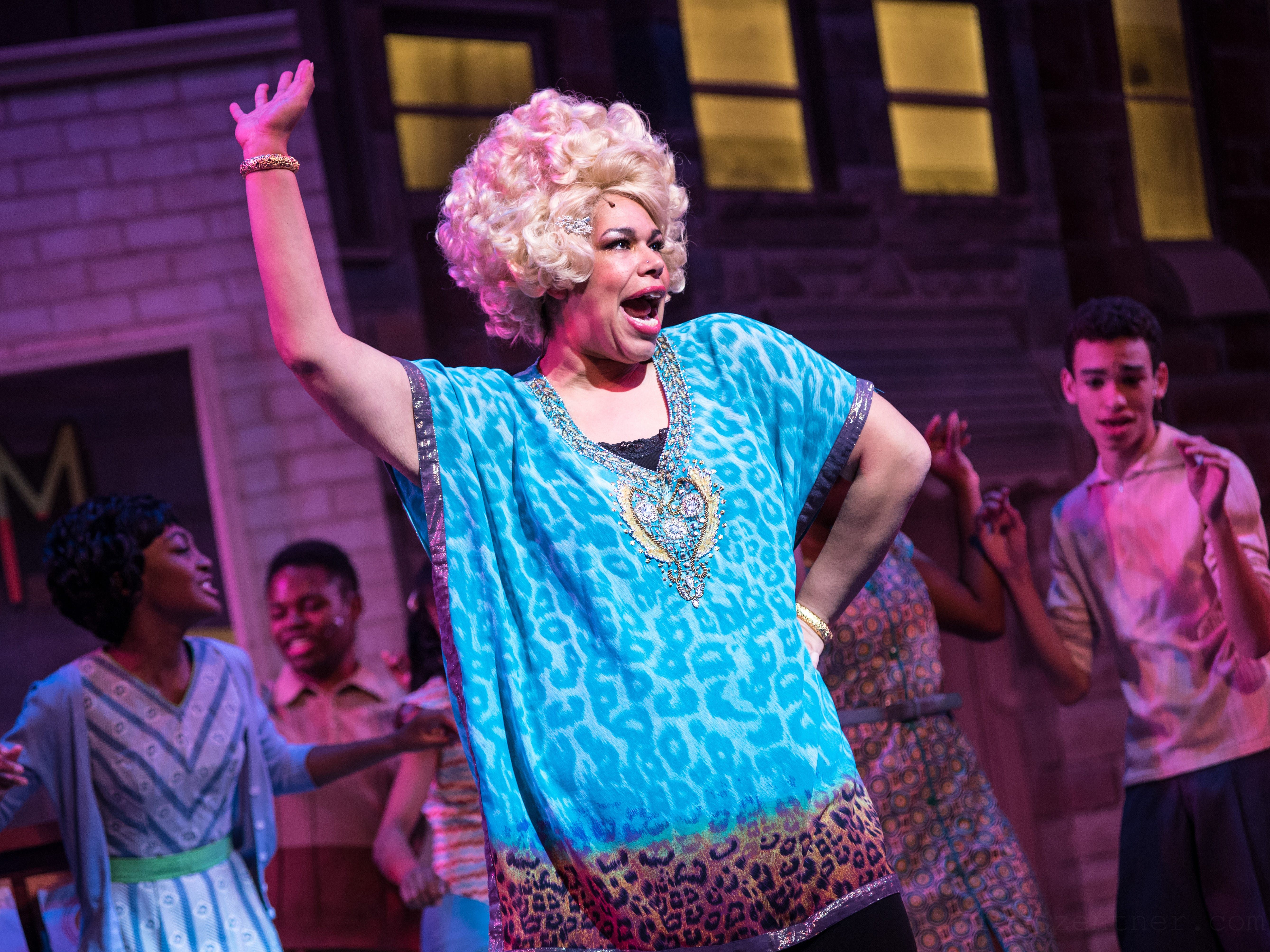 """As Motormouth Maybelle, Bethany Thomas is a powerful voice in Skylight Music Theatre's """"Hairspray."""""""
