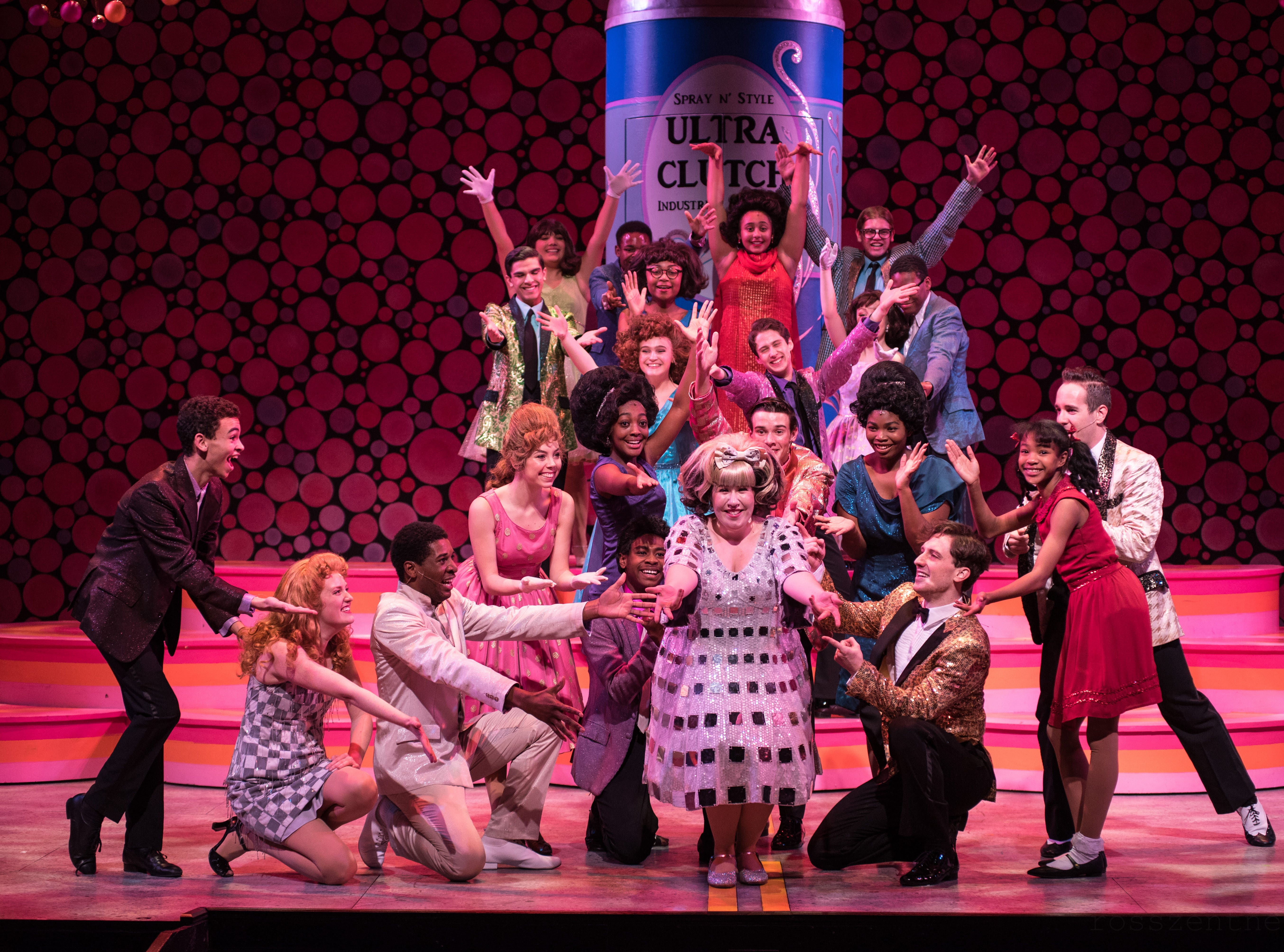 "Skylight Music Theatre performs the musical ""Hairspray"" through Dec. 30 at the Broadway Theatre Center, 158 N. Broadway."