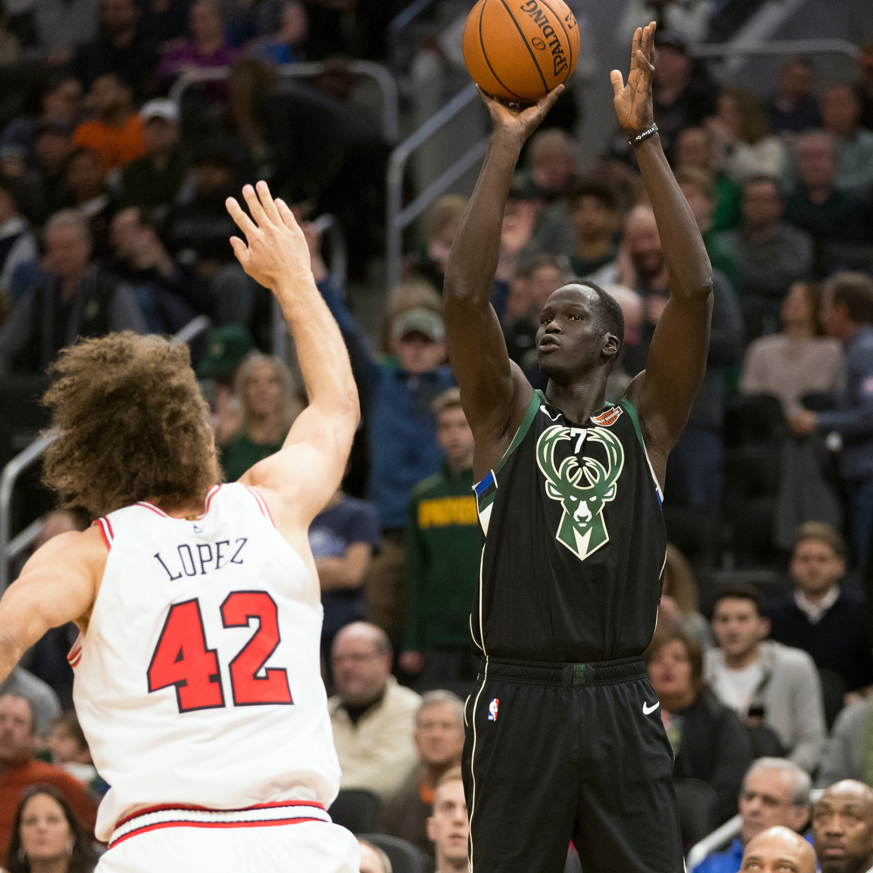 Thon Maker has stayed ready. Now the chance to prove himself has come.