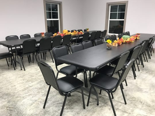 Wesley Chapel was able to move into its new fellowship hall, named after church founder Ken Renfroe, on Oct. 30. They're holding a building dedication Dec. 1.