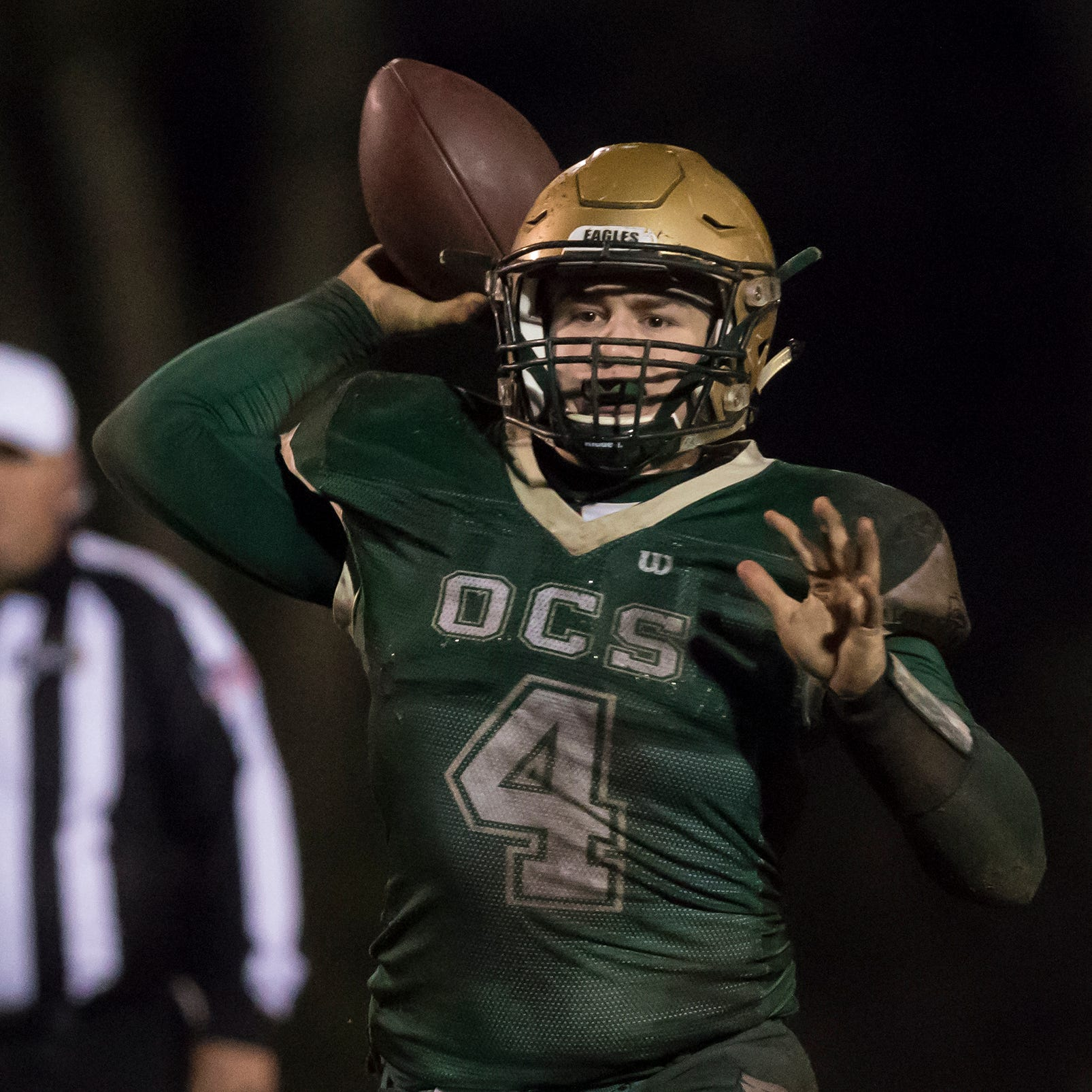 OCS lost to Southern Lab 22-21 in the waning seconds of the fourth quarter to be eliminated from the playoffs.