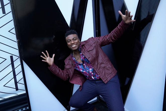 """Montgomery resident Kirk Jay shown Tuesday during the top 24 live eliminations on NBC's """"The Voice."""""""