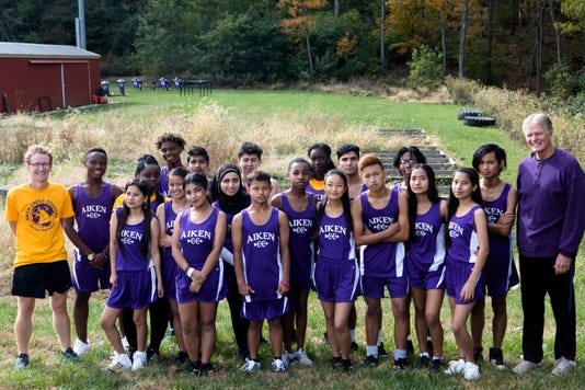 Aiken Cross Country Team