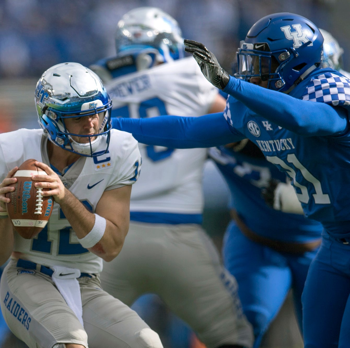 MTSU football optimistic heading into UAB game after loss to Kentucky