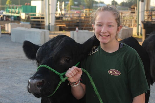 Abby Berny Wcf Livestock Show And Auction 2018 1