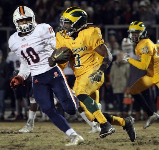 Hillsboro's Brian Covington ran for 1,553 yards and scored 10 touchdowns a year ago in his first season at Hillsboro.