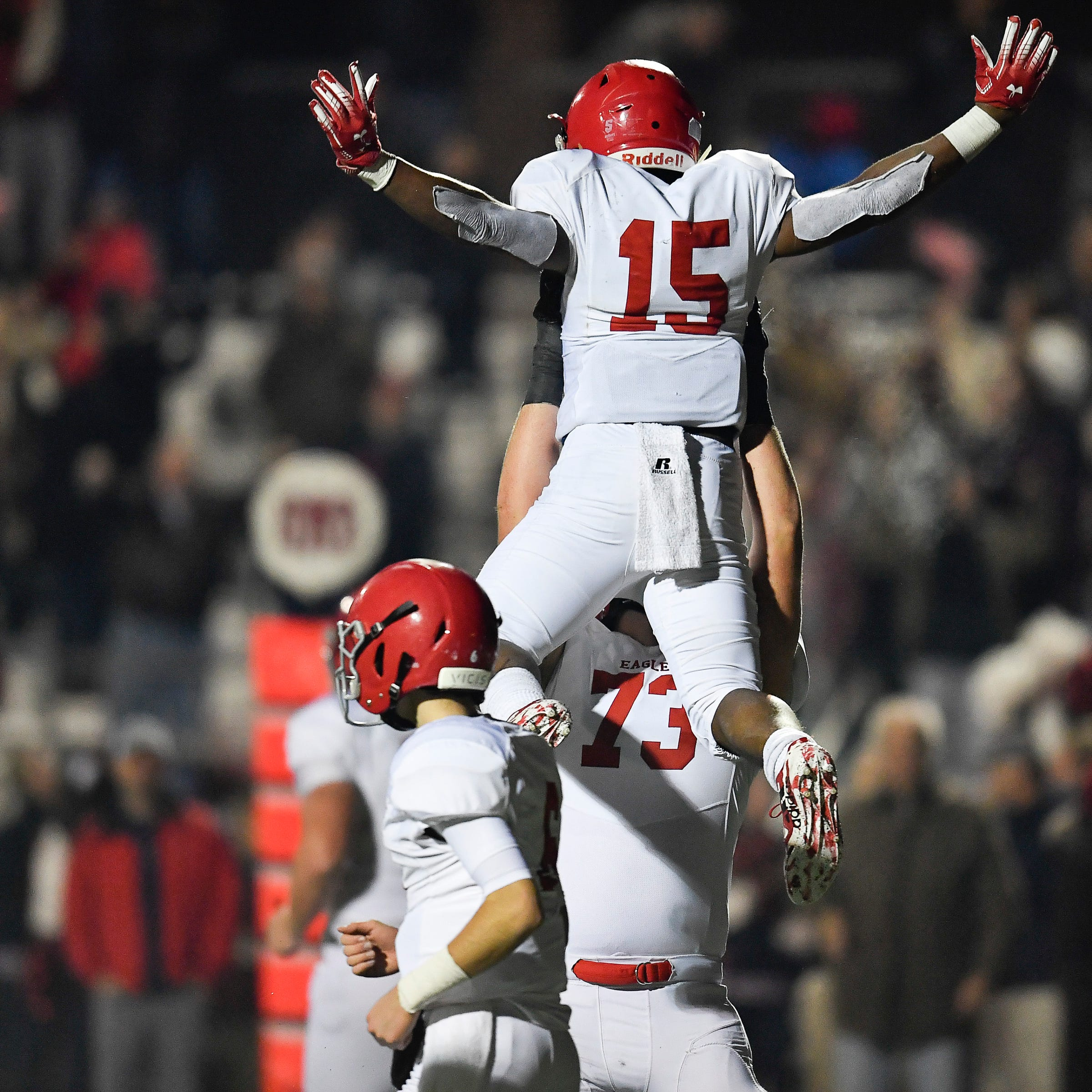 Brentwood Academy football beats MBA to make fourth straight final, but this one is different