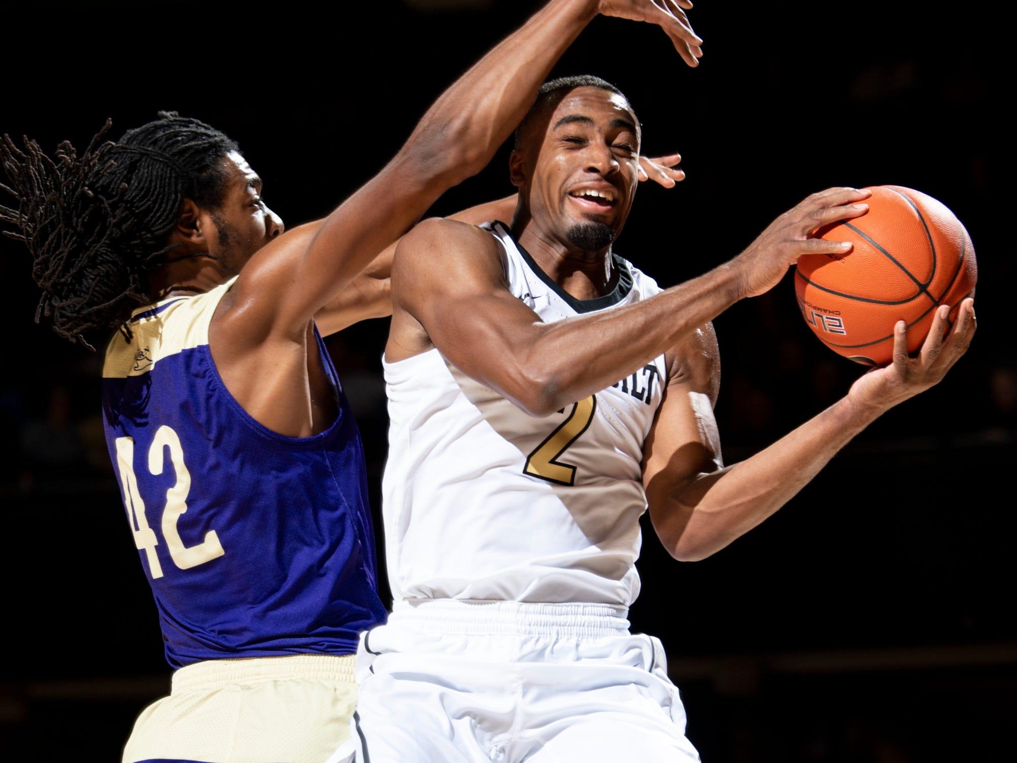 Vanderbilt Basketball Despite Slow Start Commodores Beat Alcorn State 79 54 Usa Today Sports