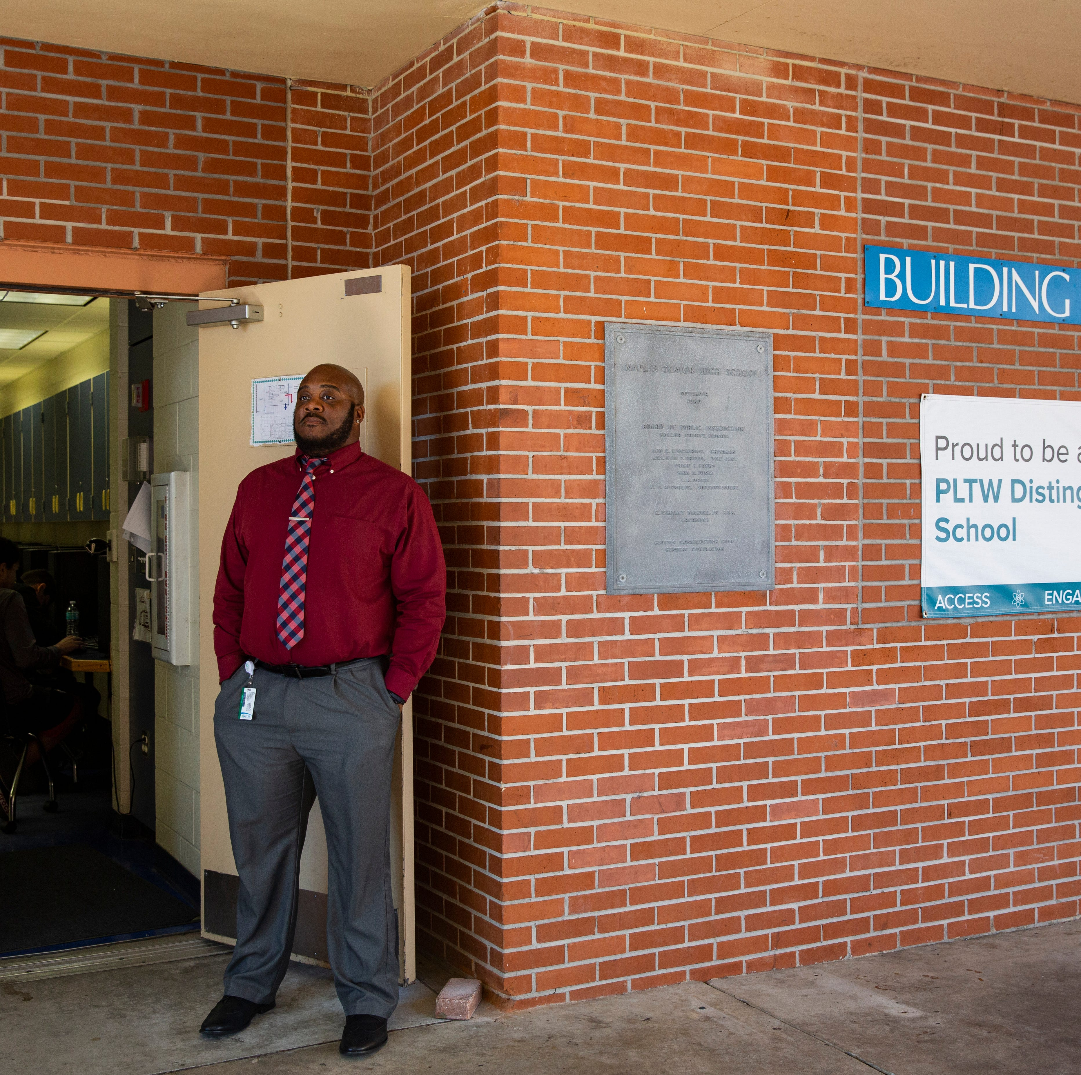 Naples High engineering teacher receives national award for engaging his classes