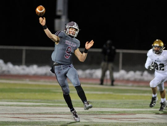 Wayne Hills senior Tom Sharkey played quarterback at three different North Jersey schools.