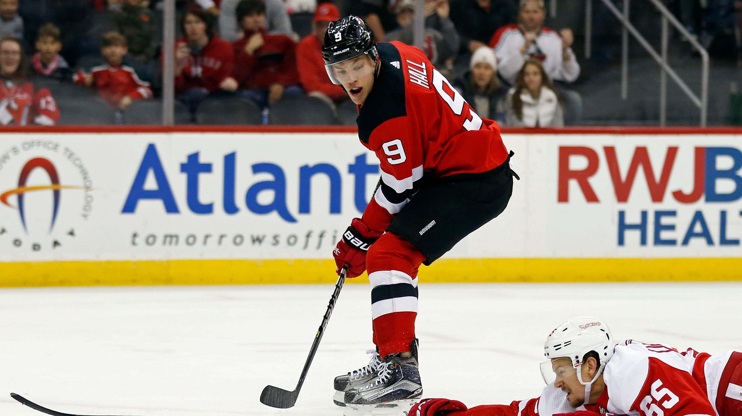 NJ Devils downed by Red Wings with 50 seconds left in overtime d7379464b