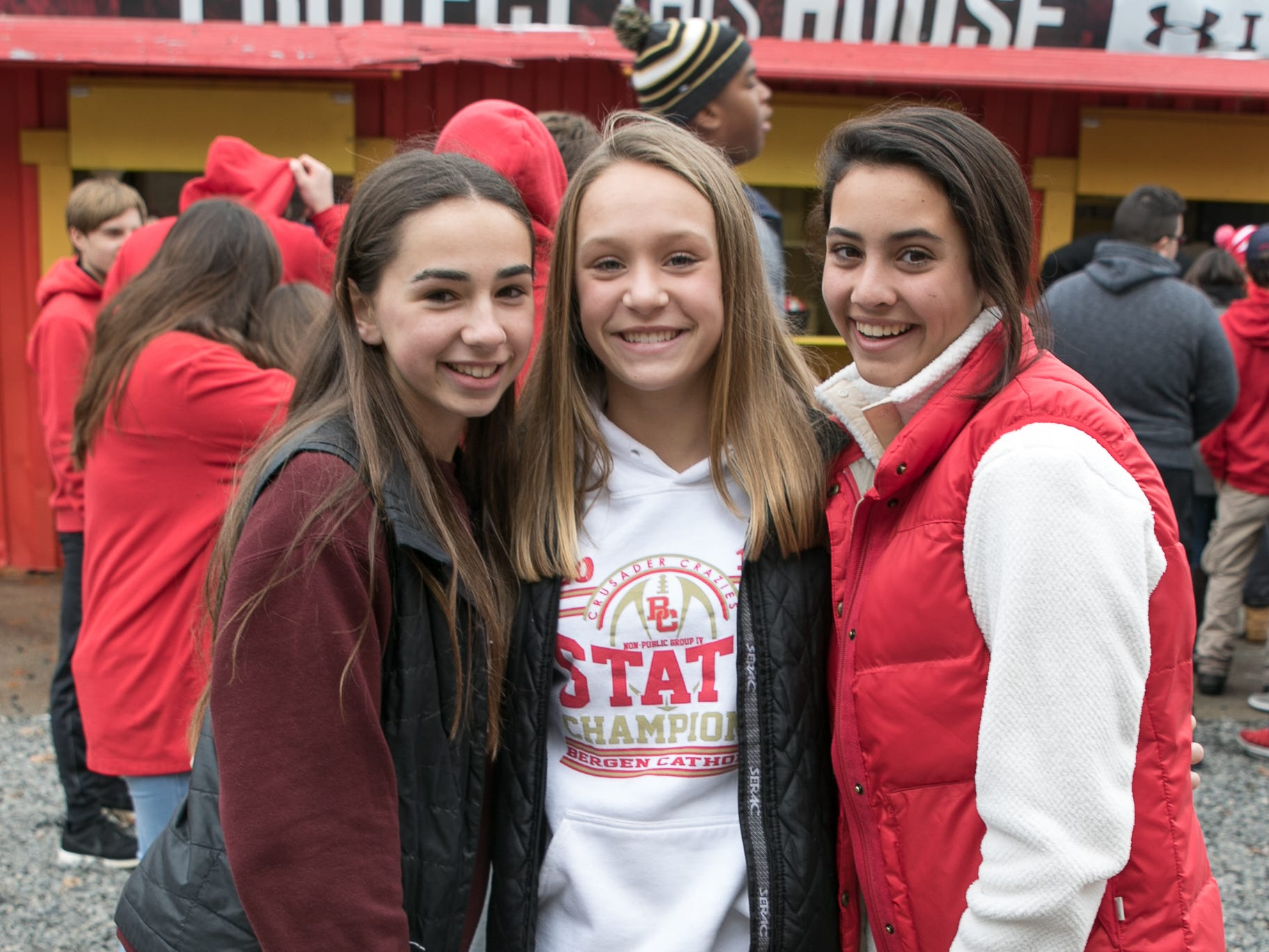 The crowd at the Don Bosco versus Bergen Catholic Prep Non-Public 4 semifinals in Oradell. Bergen Catholic beat rival Don Bosco for the second time this season, this time with a 35-17 win. 11/17/2018