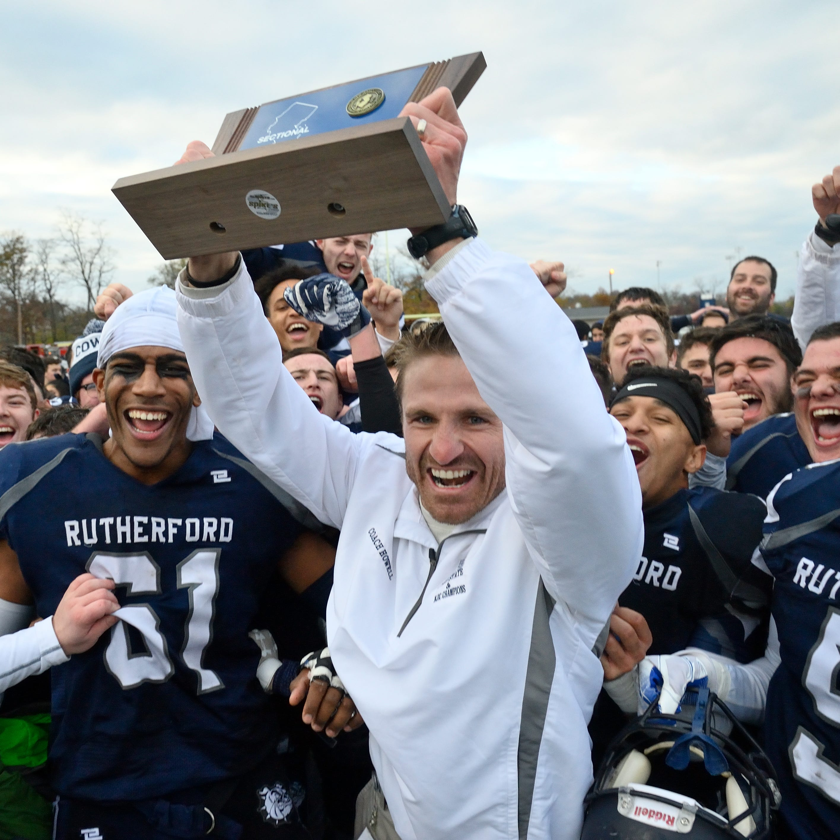 Rutherford football wins sectional title by beating Lyndhurst