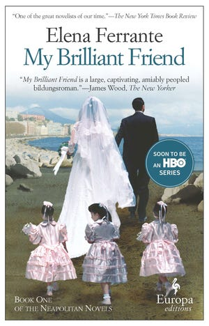 """The bestselling """"My Brilliant Friend"""" is the first in the so-called Neapolitan Quartet"""