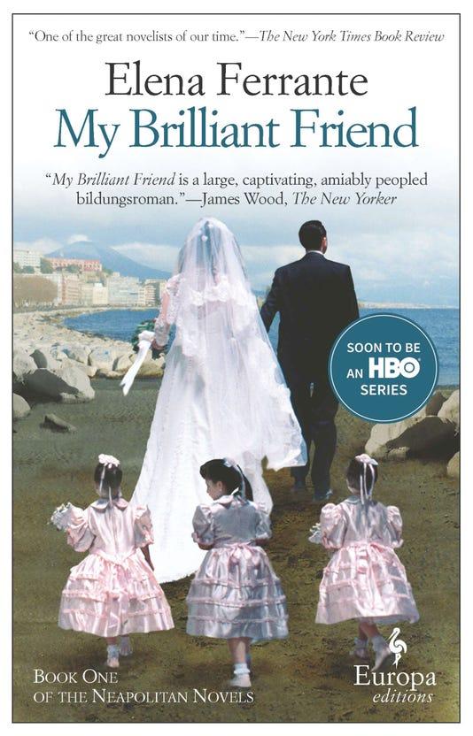 My Brilliant Friend Cover Courtesy Of Europa Editions