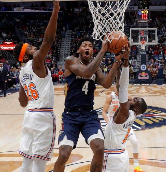 Knicks Pelicans Basketball 3
