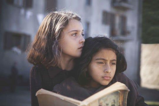 "Best friends Elena and Lila in ""My Brilliant Friend"""