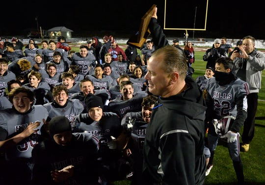 Wayne Hills and coach Wayne Demikoff will face Phillipsburg on Friday in the North Group 4 bowl game.