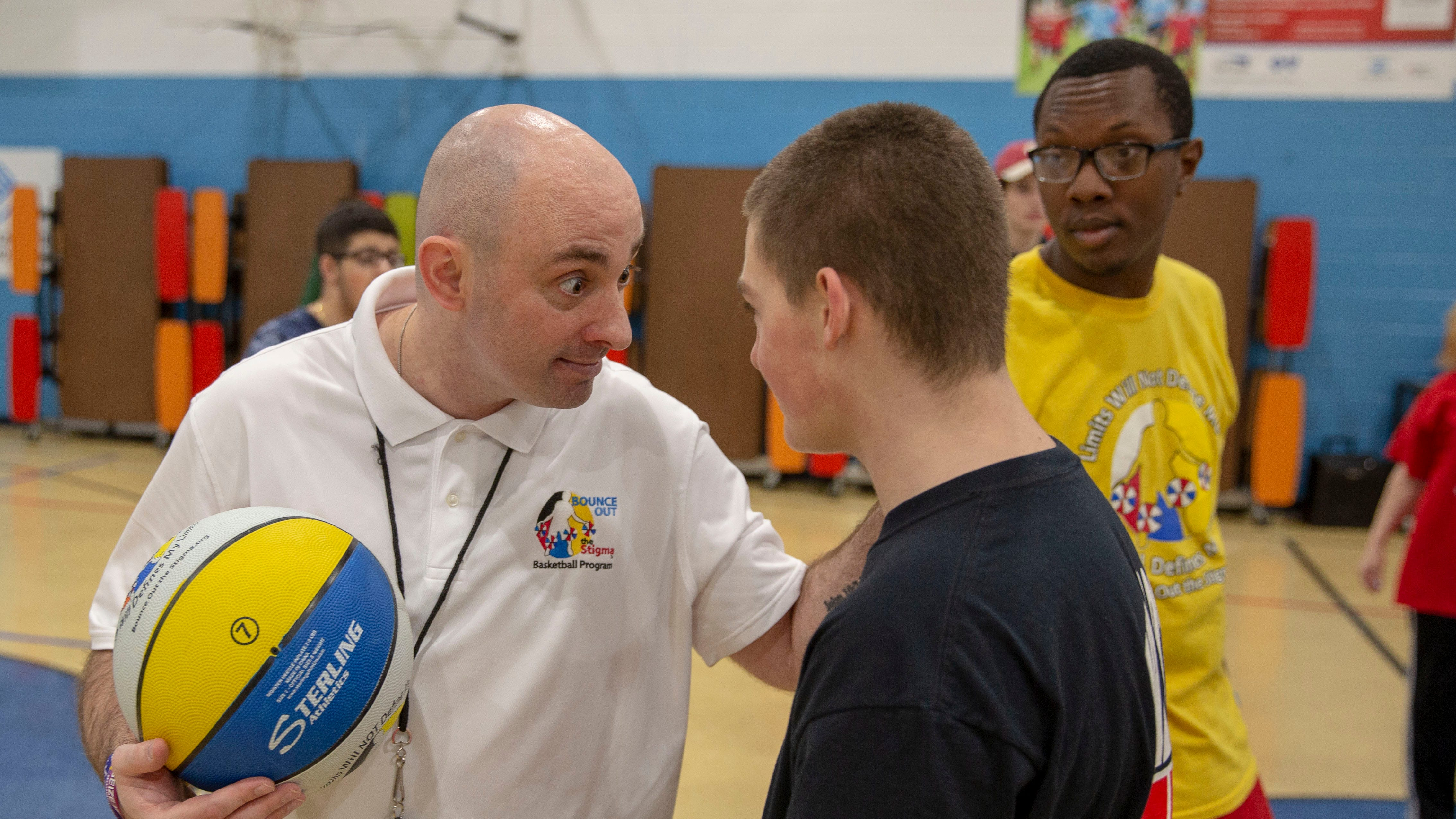 Former basketball star gives special-needs kids their wings