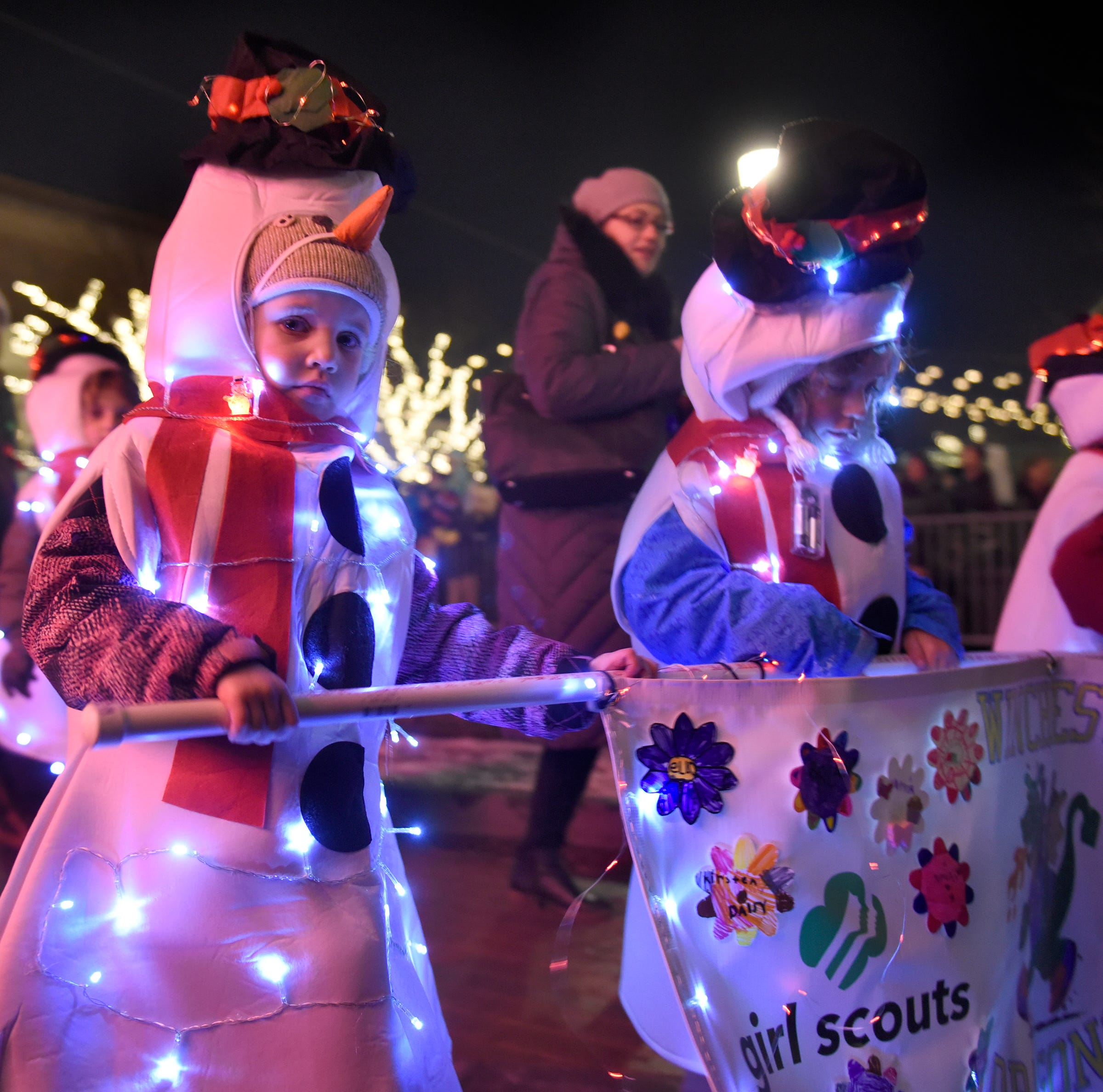 Northville lights up downtown streets with holiday parade