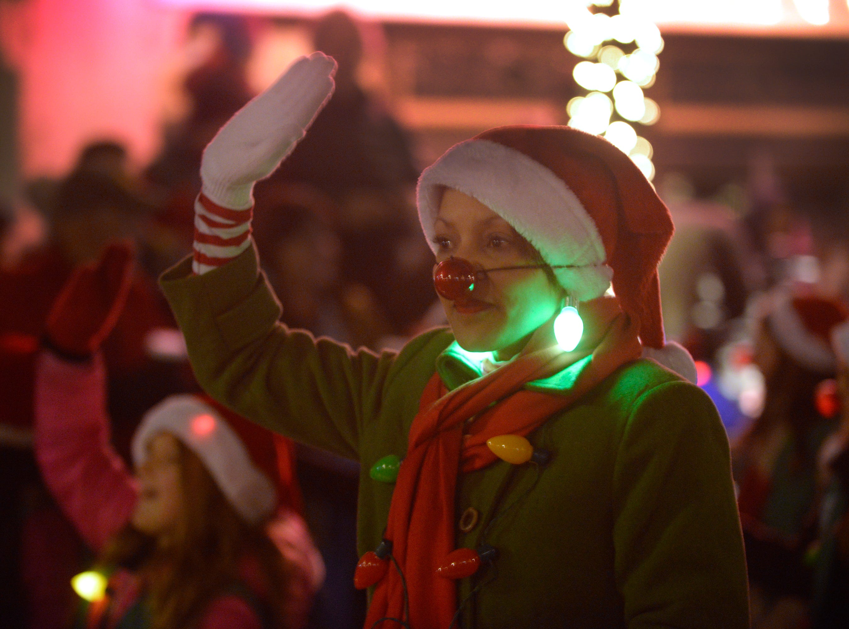 The Holiday Lighted Parade in downtown Northville, Nov. 16, 2018.