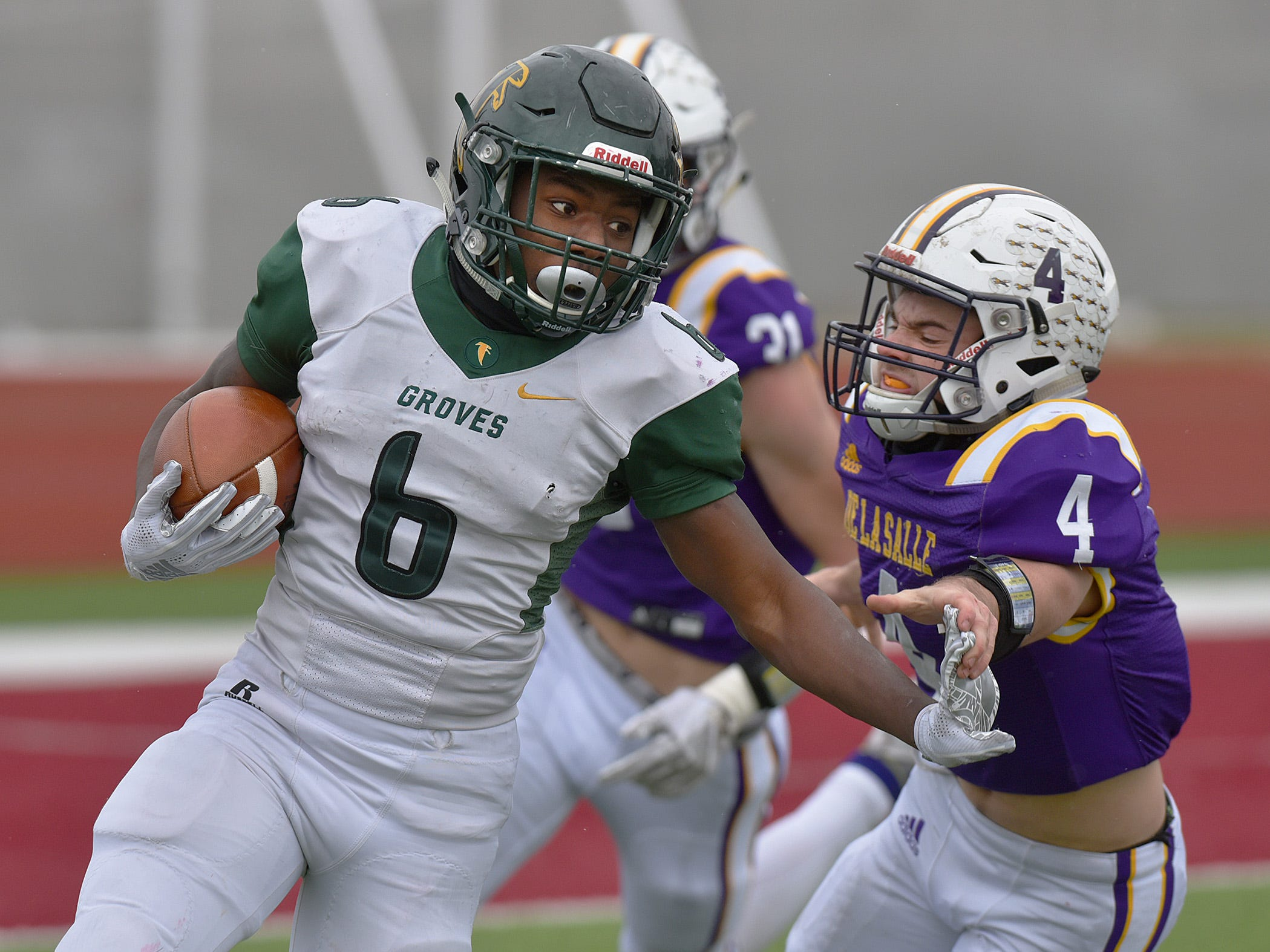 Birmingham Groves football falls to DeLaSalle in semifinals