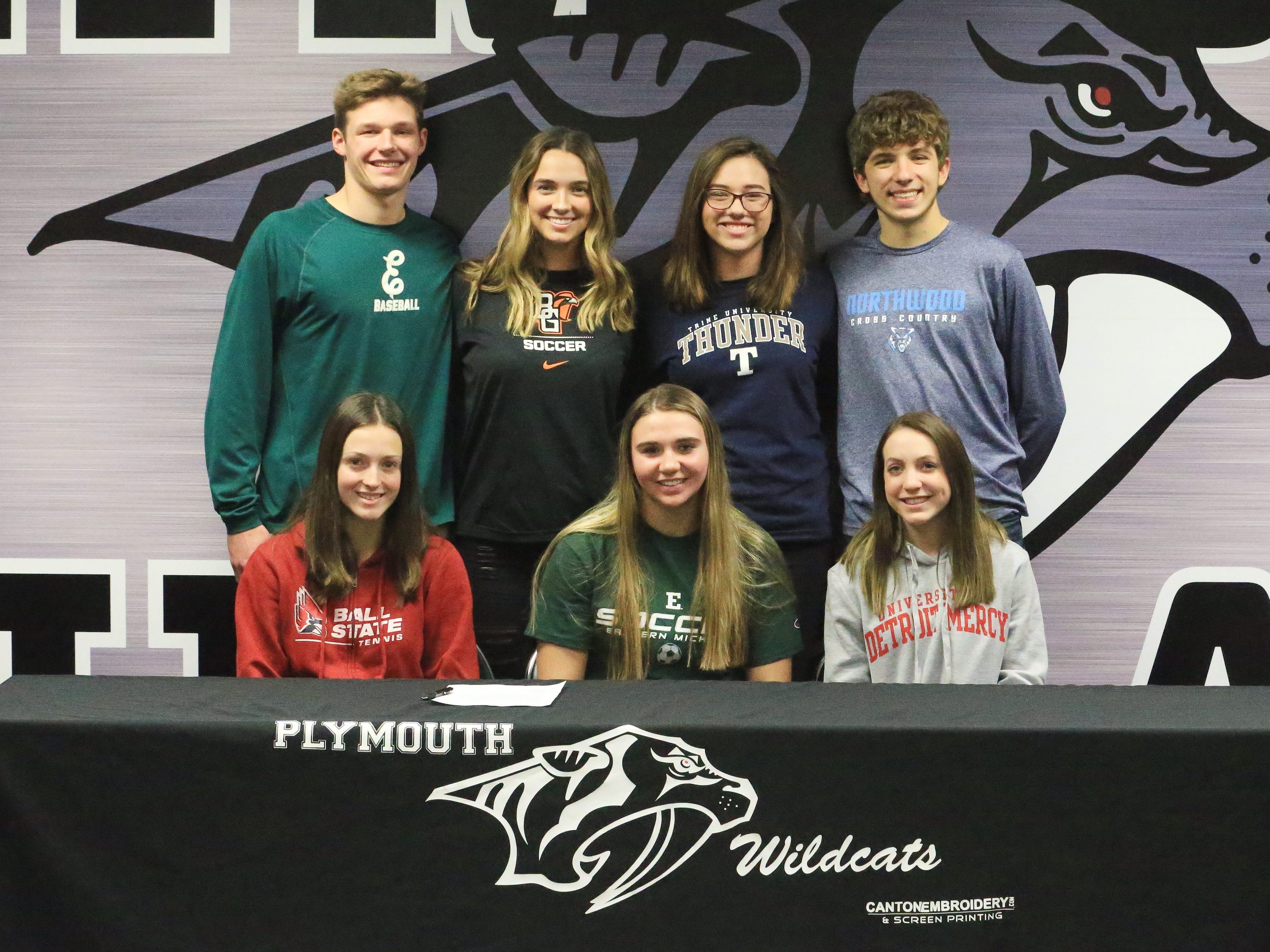 College futures are payoff for these motivated Plymouth athletes