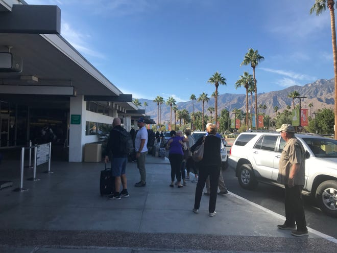 A record 30.6 million people will be traveling by air this Thanksgiving holiday, Airlines for America reports. Palm Springs International Airport officials advise people to arrive up to two hours early to get through long security lines without missing a flight.