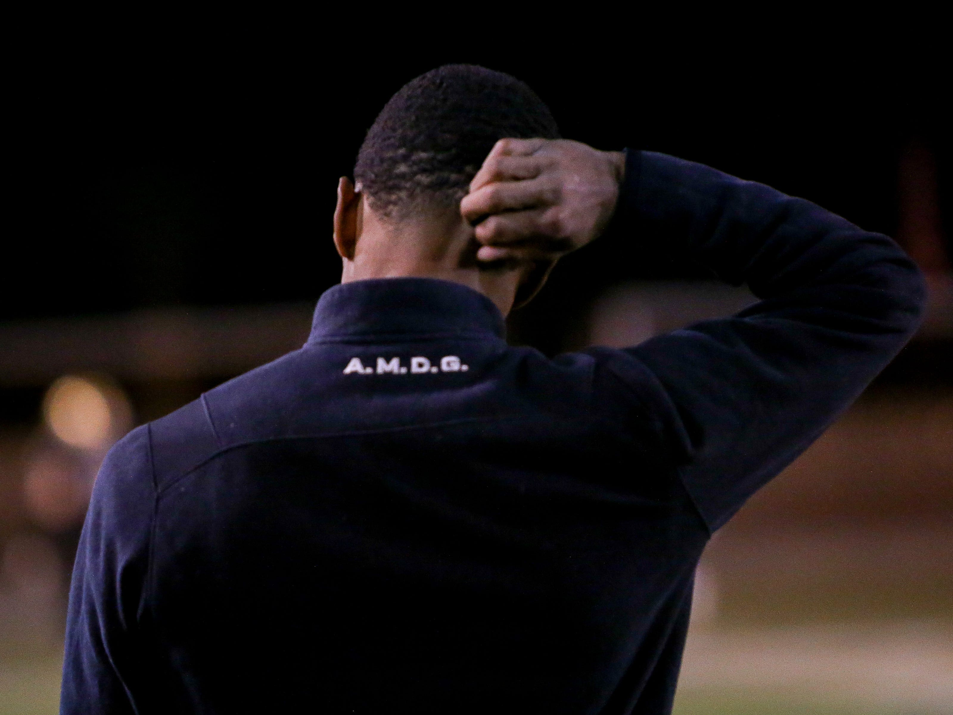 The Xavier Prep varsity football team lost Friday's neutral playoff game against Linfield Christian by a score of 57-13.