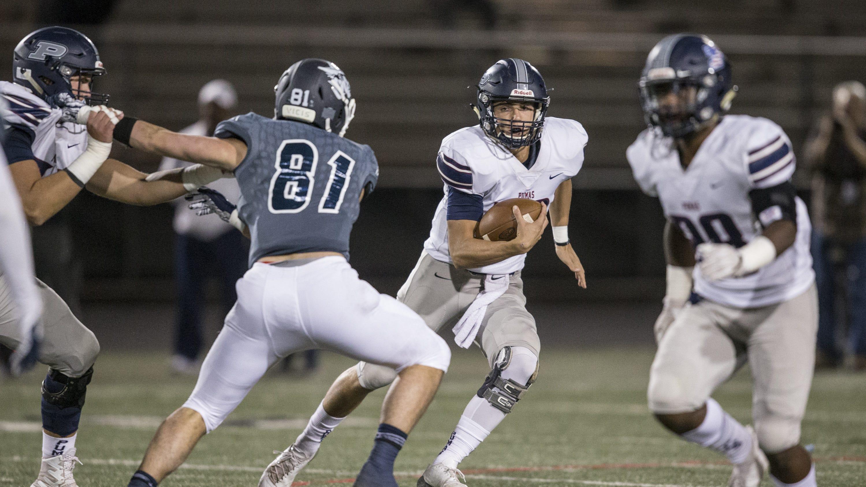 Arizona High School Football Perry Dominates Pinnacle To Meet Chandler