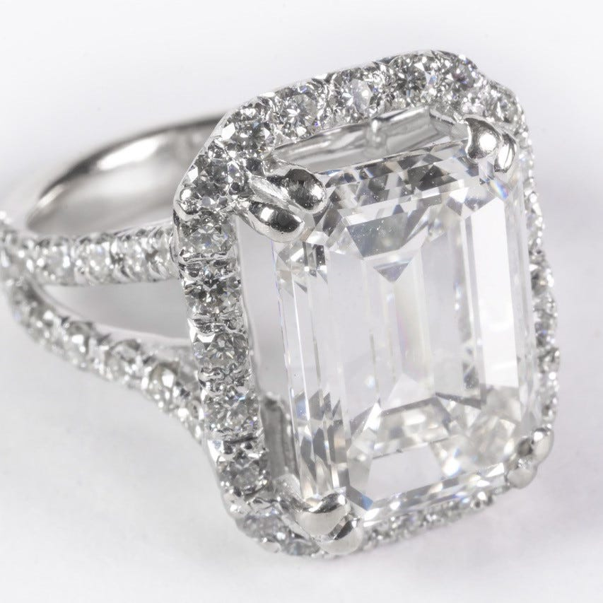$90K diamond ring hidden by lawyer in fraud case hits the auction block