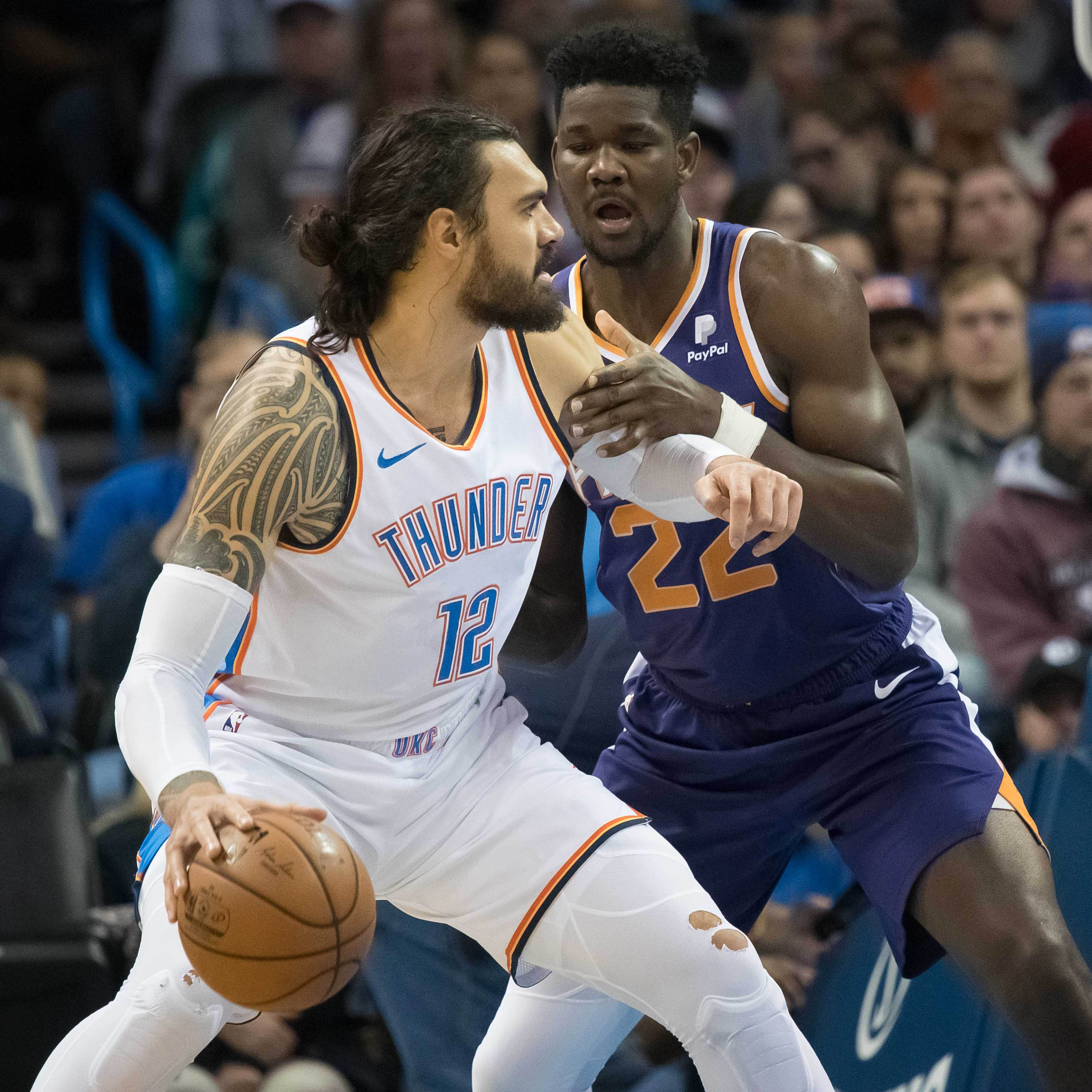 Thunder's Steven Adams: Suns' Deandre Ayton misunderstood in-game comments
