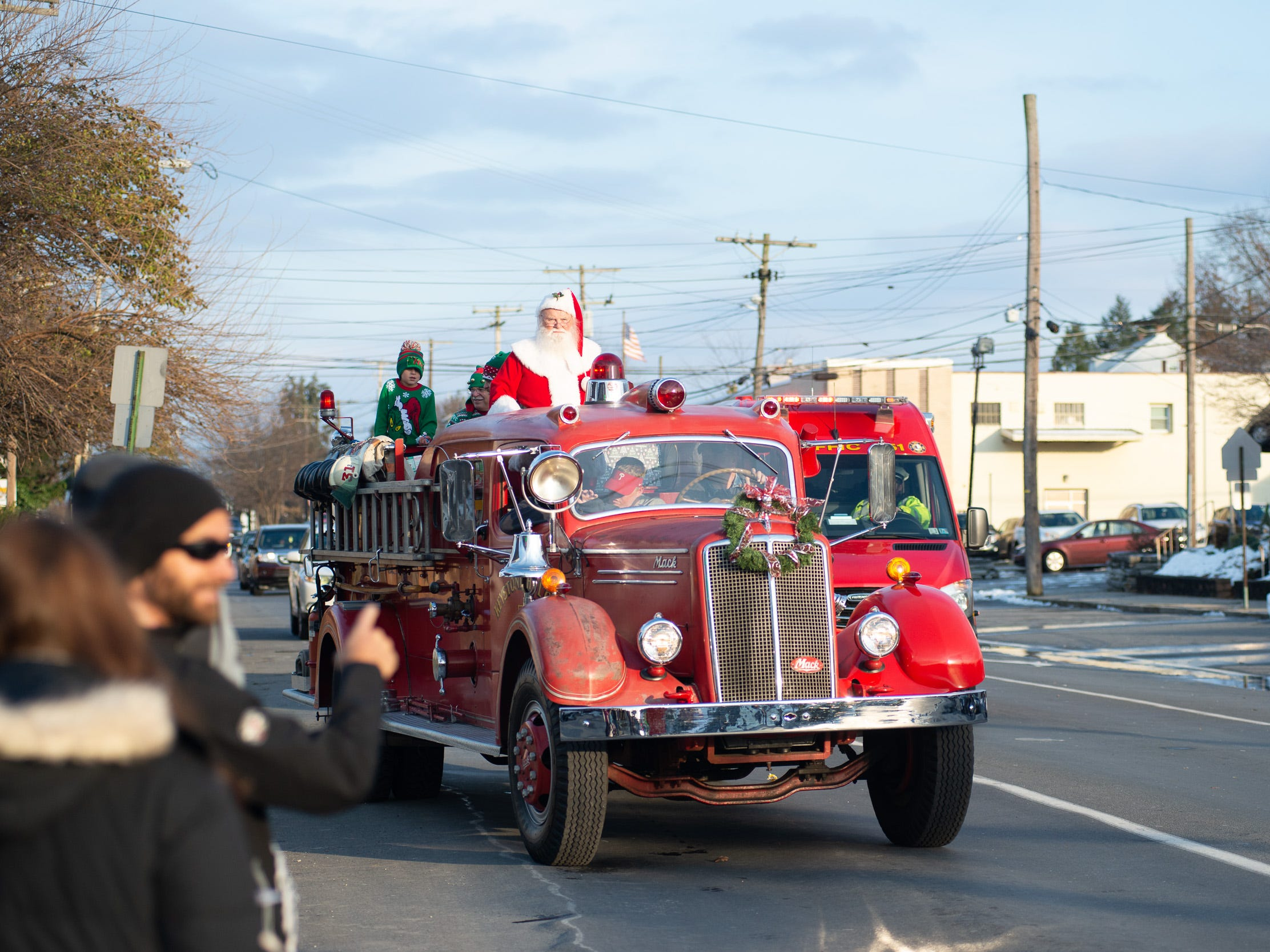 The 2018 Lebanon Holiday Parade was held Saturday afternoon in downtown Lebanon. A huge crowd lines the streets on Nov. 17, 2018 to observe the festivities.