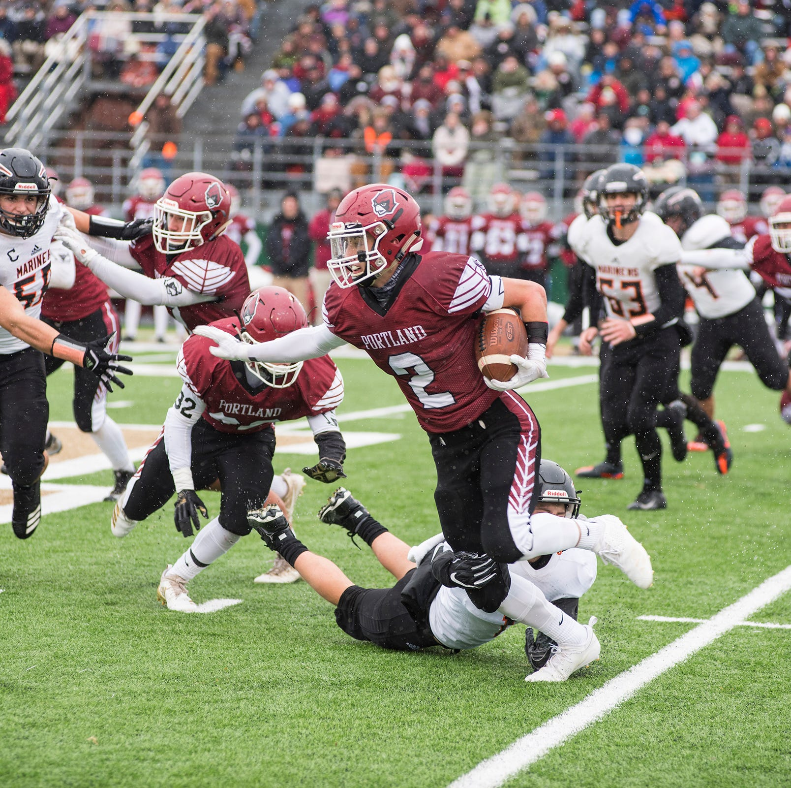 Lansing area high school football scores for state semifinals