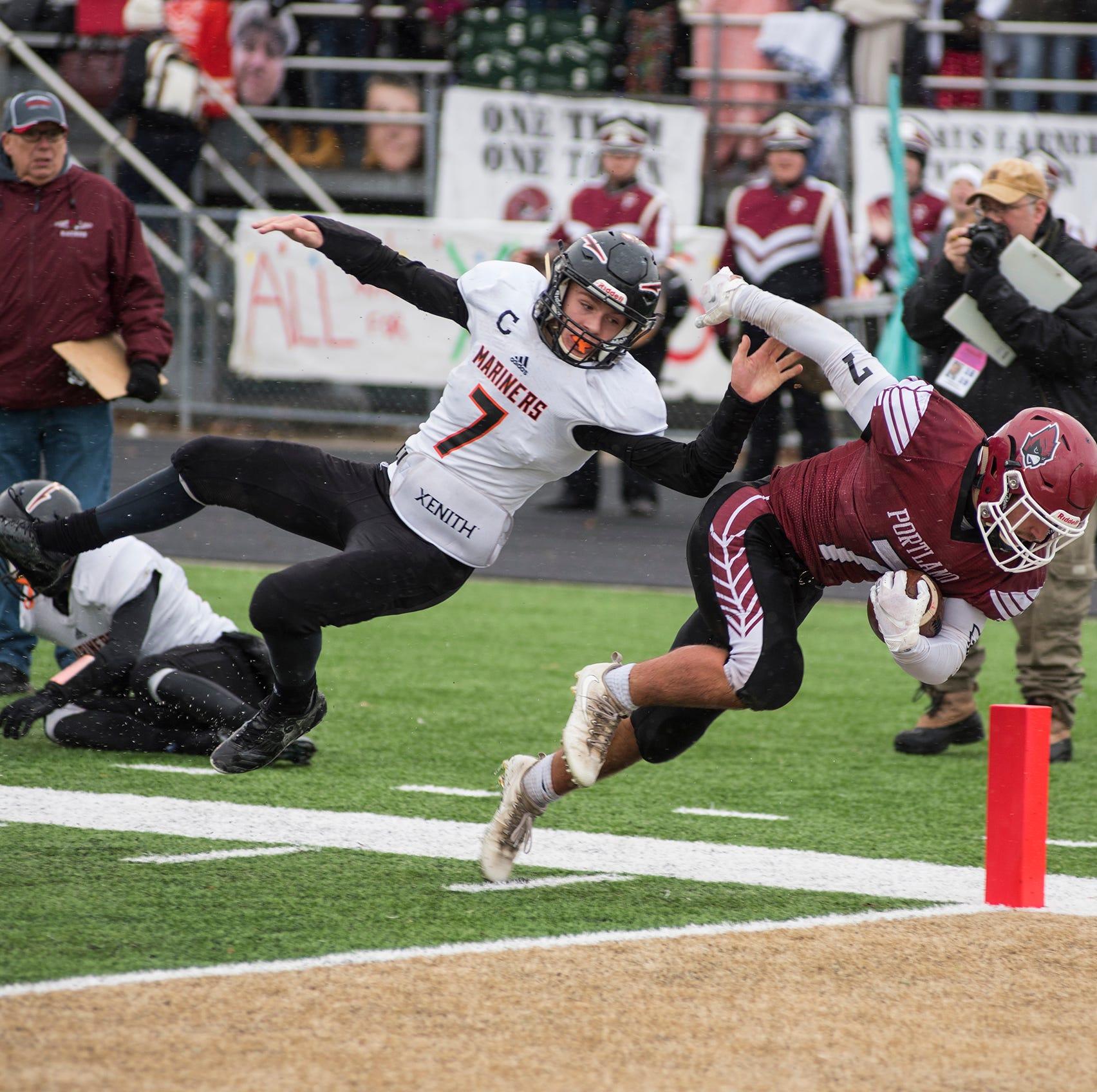 Football Recap: Marine City falls to Portland, 35-14, in Division 5 state semifinal