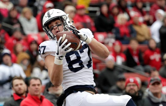 Penn State tight end Pat Freiermuth will be a key receiving option - but will anyone step up behind him?