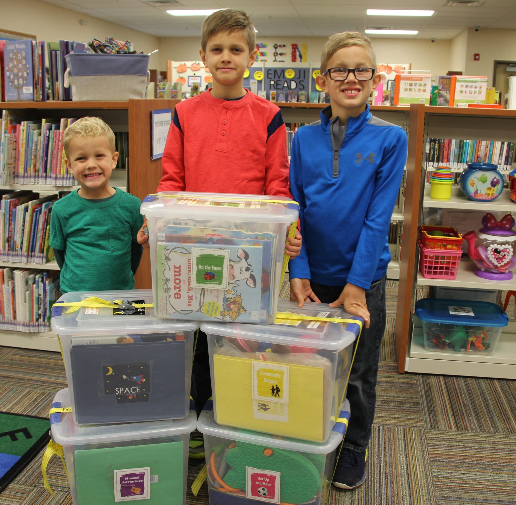 In memory of their infant, Kendall family's heart belongs to libraries