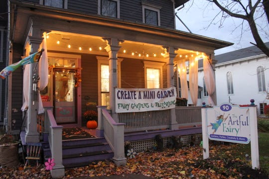 The Artful Fairy is located at 90 E. Main St., Victor.
