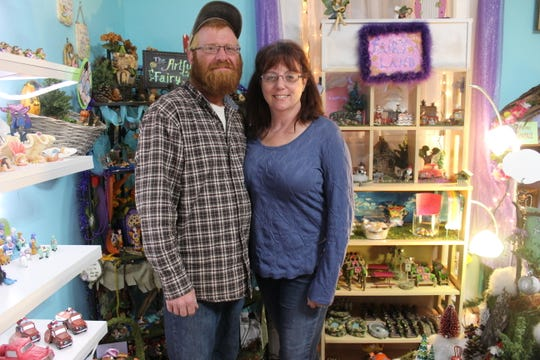 Layton and Lisa: Layton Hart and Lisa McCombs own and operate The Artful Fairy in Victor.