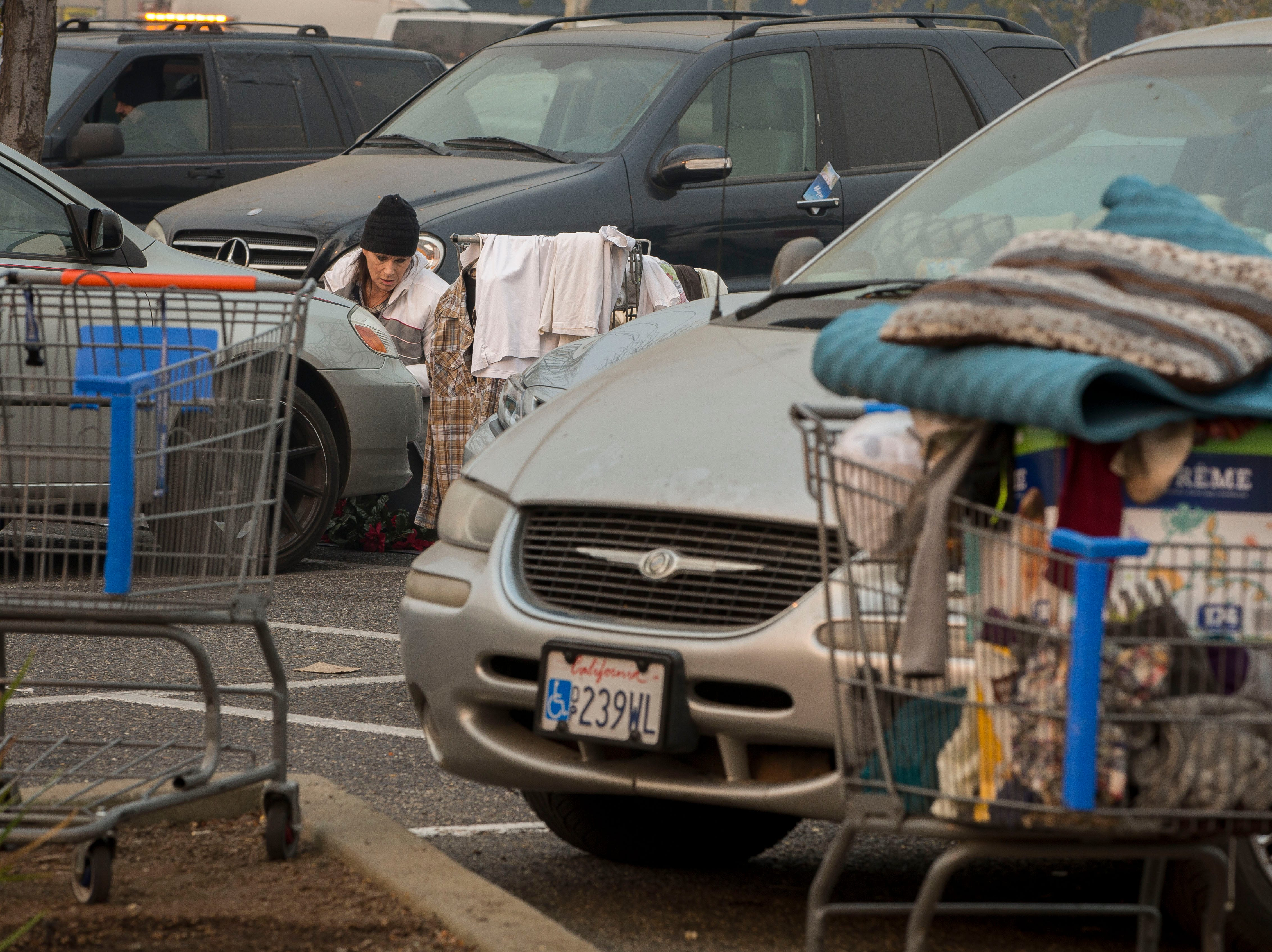 More than a week since the Camp Fire destroyed thousands of homes, the make-shift tent city next to the Walmart in Chico, CA is still a place where many are taking shelter in tents as they seek out the help they need.